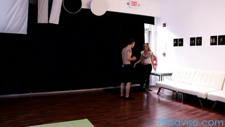 Tasha Reign and Patrick Delphia in a very sexy yoga session Thumb