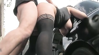 Dogging Outdoor for a Hairy Pussy BBW_240p Thumb