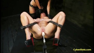 Extreme Machine Sex and Bondage Torture Thumb