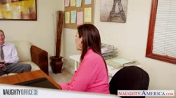 Brunette milf Sara Jay fucking in the office Thumb