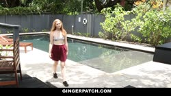 GingerPatch - Strawberry Blonde Petite Banged By Neighbor Thumb