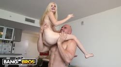 BANGBROS - J-Mac Smashes Teen Piper Perri's Tight Little Pussy, Shows No Me Thumb