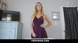PervMom - Horny Big Tit Mom Fucks Panty Sniffing StepSon Thumb