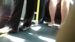 upskirt in the bus Thumb