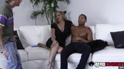 Horny busty milf Julia Ann has her pussy destroyed by a bbc Thumb