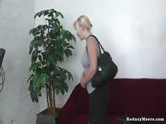 Chubby Amateur Blonde Shy Slut Evie Bald Pussy Gets Spanking Thumb