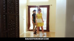 DaughterSwap - Barista Babes Fuck Their Dads For Some Cash Thumb