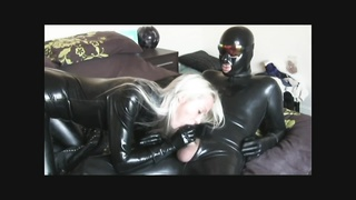 Latex cum on her face Thumb