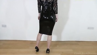 Back Latex, Legs and Heels, Sexy Whore!!! Thumb