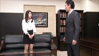 Kokoro Maki - Secretary fondled by boss Thumb