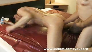 Sweet MILF will get fist-fucked in her greedy cell-phone Thumb