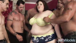 Absolute Best Plumper Khole Kanyon gangbanged. Thumb
