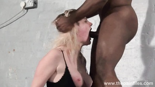 Brutal bi-racial mouth fucking and largest drill sergent excercise Thumb