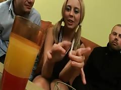 Busty Russian girl drnk and fuck Thumb