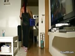 Step-sister sedcue to fuck hard by German not Step-brother Thumb