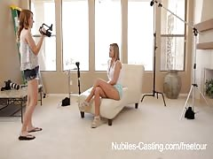 Nubiles Casting - This girl will do anything to get the job Thumb