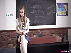 Naughty School Girl Empty Your Balls PT. 1 Thumb