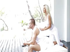 Nubile Films - Shoot your cum in Didos hungry mouth Thumb