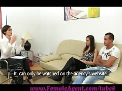 FemaleAgent - Real couples passionate casting fuck Thumb