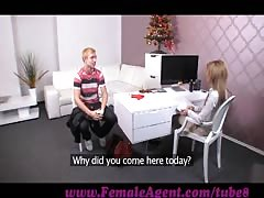FemaleAgent. Unusupecting stud dominated into casting pegging session Thumb