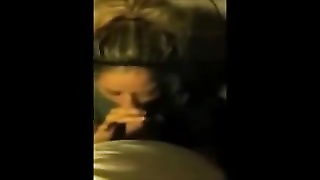 Slutty british blonde blow and facial Thumb