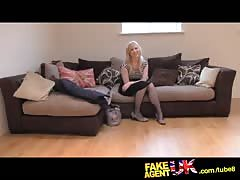 FakeAgentUK Sweet blonde desperate to get back into the business Thumb