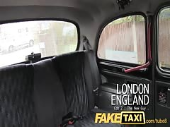 FakeTaxi Busty MILF gets her lips on a big cock Thumb