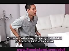 FemaleAgent. Asian casting fucks female agent amazingly well Thumb