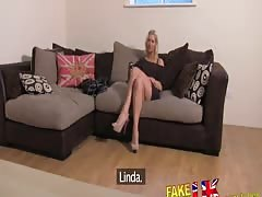 FakeAgentUK Sexy hungarian chick gets anal on the casting couch Thumb
