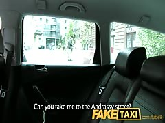 FakeTaxi Unhappy customer sucks cock or a long walk Thumb