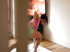 Watching your step sister practice Yoga - C4R Thumb