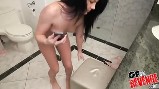 Jerking Off movie for her bf Thumb