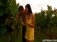 Lusty grape picking session Thumb