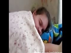 Step mom have sleep over with son and wakes up to a suprise she wont forgot Thumb
