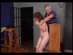 Electric Torture / Woman tied to a chair and tortured Thumb