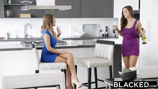 BLACKED Wives Abigail Mac and August Ames Delight In Heavy Ebony Coc Thumb