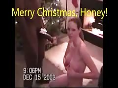 Slut Wife's Christmas Present (with Christmas music) Thumb