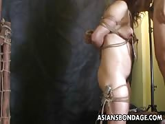 Asian freak couple going through a sexual experimentation ph Thumb