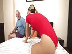 21Sextreme Grandpa Gets Lucky with Teeny Ballerina Thumb