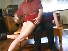Spanked by Step-dad Thumb