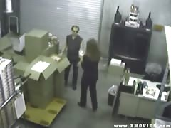 Security Cam Catches Woman Fucking Her Employee Thumb
