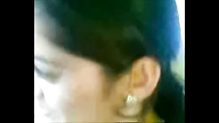 Sexually Aroused Desi Bhabhi Demonstrate Creamy Juggs In Automobile With Enthusiast Thumb