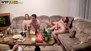 Sensible university being fucked birthday celebration with tipsy and nude Czech Thumb