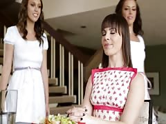 Adriana Chechik and Jade Nile Lesbian Step Sisters Thumb