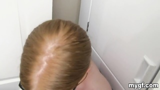 Red gives good head Thumb