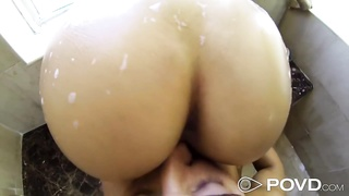 Asian Girl getting fucked in the shower Thumb