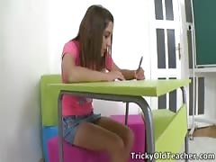 Ulia is a sexy young student who is having school trouble Thumb