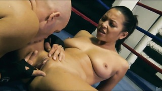 Adrianna Luna is hooking up on precisely the ring Thumb