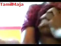 South indian Massage Girl doing hanjob & release the CUM Thumb