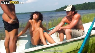 Nice summer sex party on a boat with teen amateur bitch Thumb
